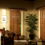 beautiful brown shades - Southern California Window Coverings