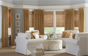 beautiful living room draperies - Southern California Window Coverings