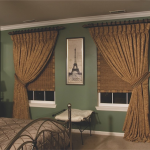 bedroom draperies and shades Southern California Window Coverings
