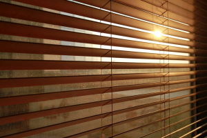 brown blinds - Southern California Window Coverings