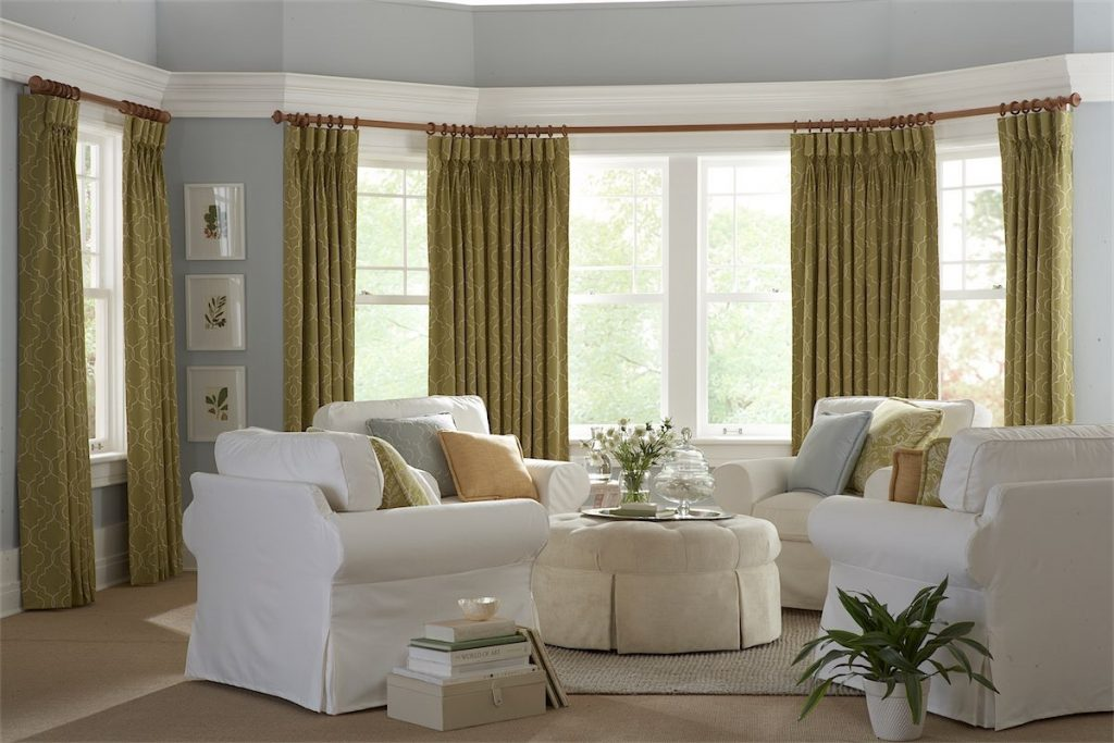 Draperies In Living Room - Temecula Draperies