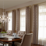 dining room draperies - Southern California Window Coverings