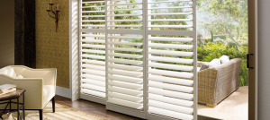 elegant white shutters - Southern California Window Coverings