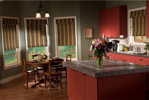 kitchen shades - Southern California Window Coverings