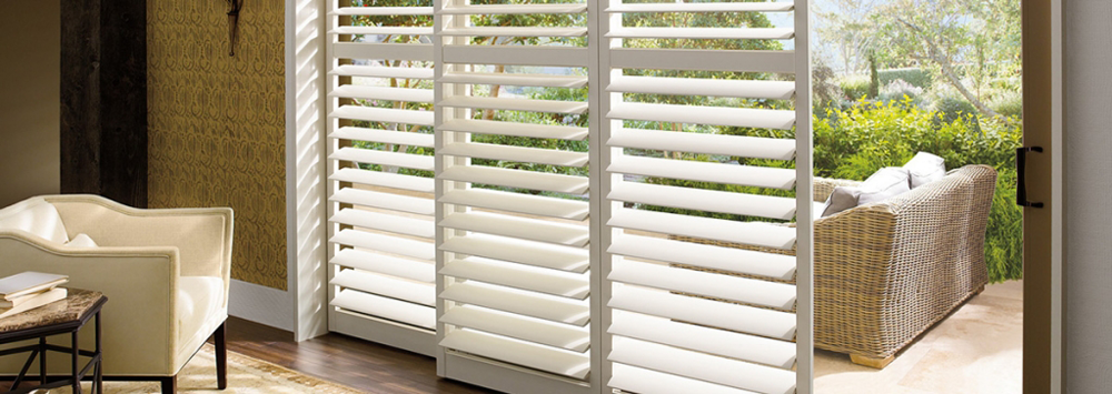 stylish white shutters - san diego shutters