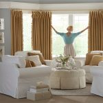 Draperies In Living Room - Menifee Custom Draperies