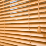tan blinds - Southern California Window Coverings